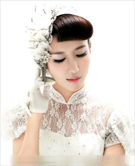 新娘造型 新娘发型 复古风