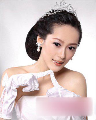 新娘发型 步骤图解