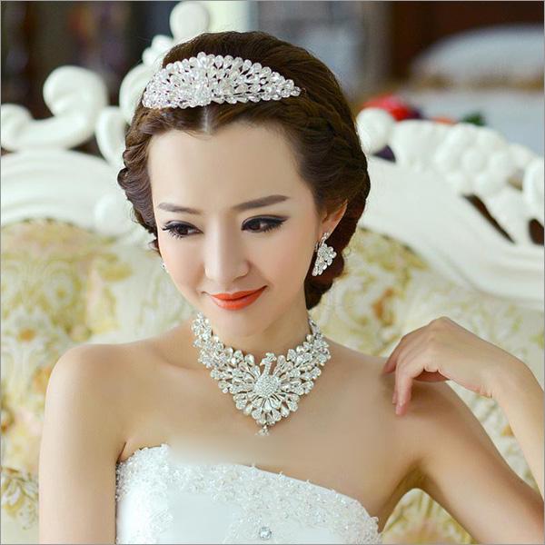 新娘妆 新娘造型 新娘发饰图片