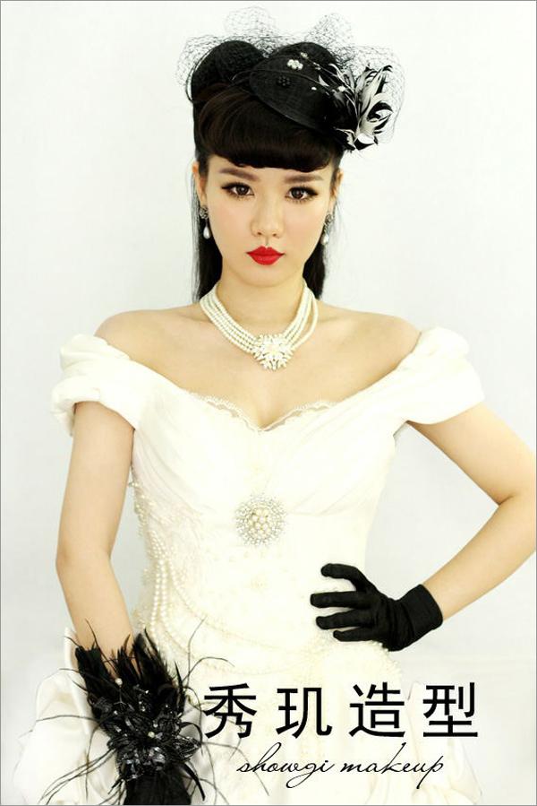 新娘造型 新娘妆容图片