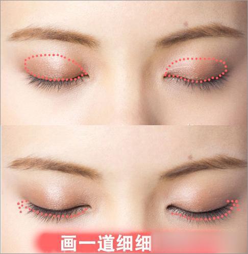 学一下韩国明星宋茜的猫眼妆