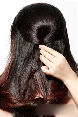 韩式新娘造型 发型步骤