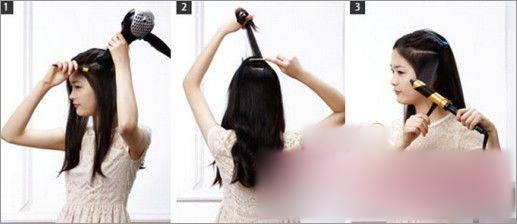 新娘发型步骤图解 让你拥有端庄靓丽的美感(4)