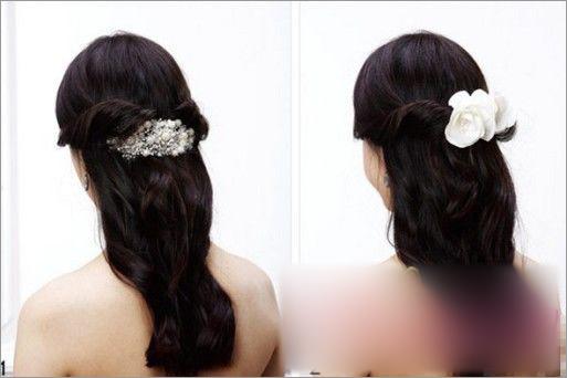 新娘发型步骤图解 让你拥有端庄靓丽的美感