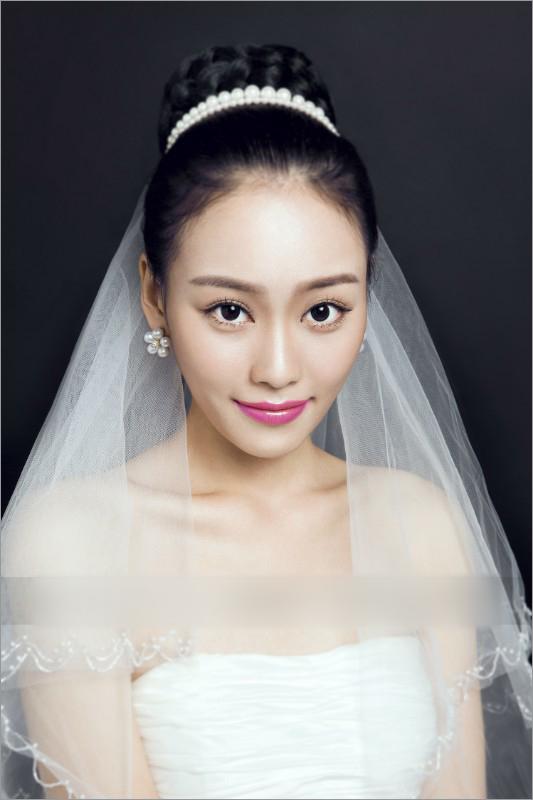 新娘妆妆面图手绘