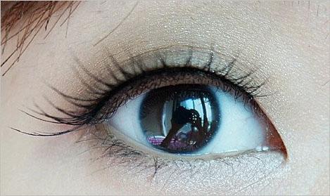 手绘漂亮眼睛黑