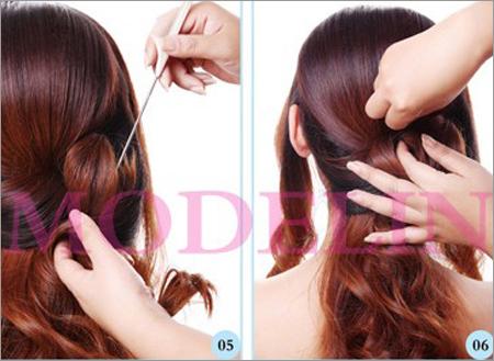 韩式新娘发型步骤图解 将浪漫美丽进行到底