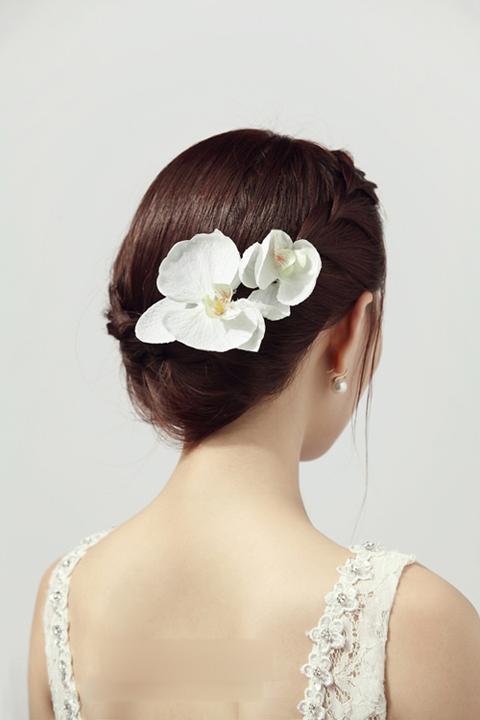 温婉甜美的新娘发型 哪款才是你的最爱