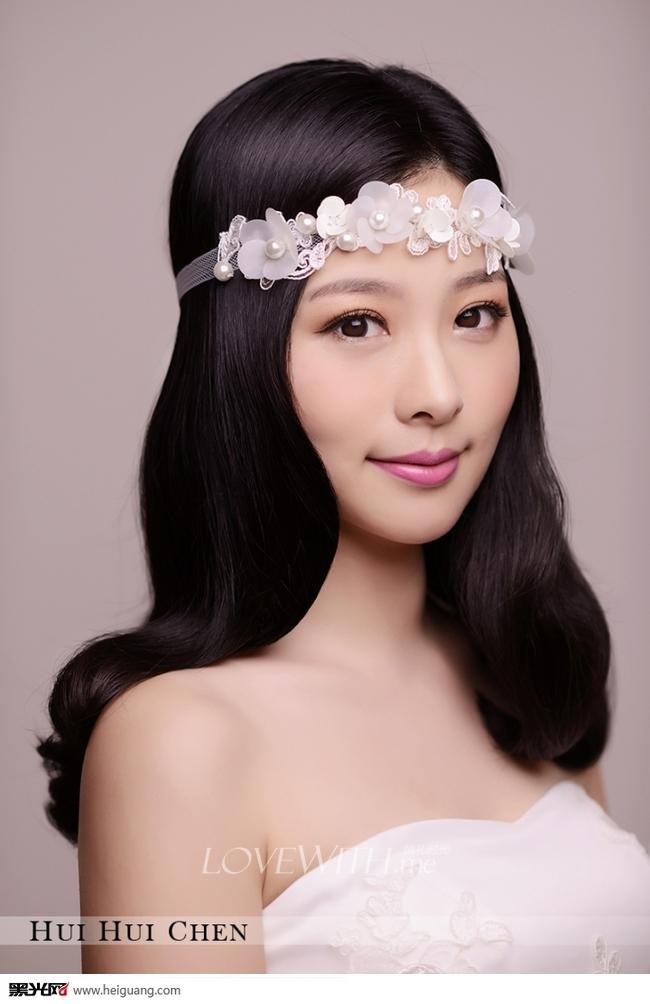 韩式新娘造型化妆造型
