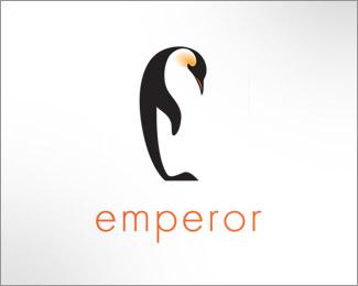 标志设计元素运用实例:企鹅