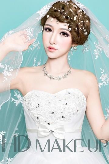 韩式小清新新娘造型 做你的梦中人_妆面赏析_影楼化妆