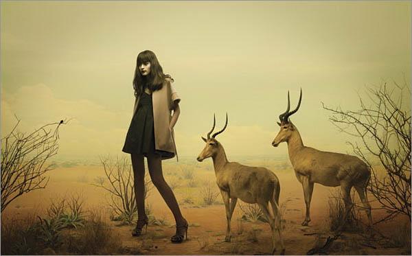 创意 人物 摄影 设计欣赏图片