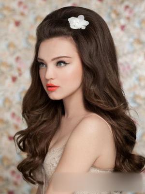 2013流行发型 新娘发型