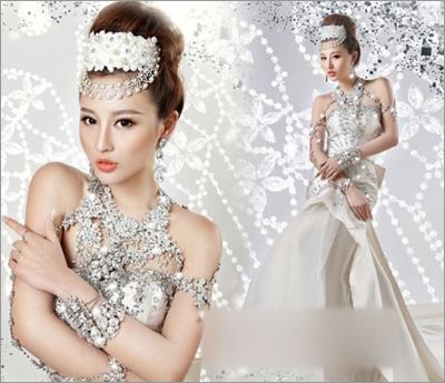 新娘造型 新娘发型 新娘头饰