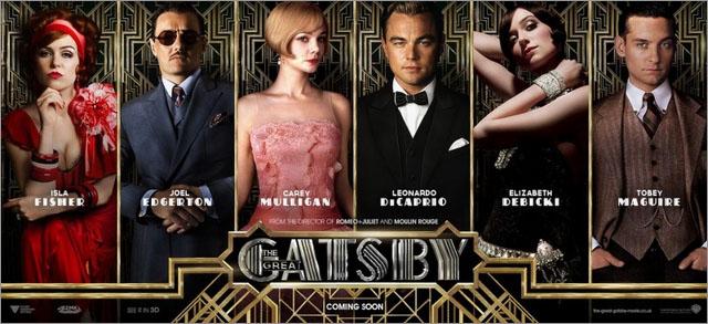 电影海报欣赏:了不起的盖茨比the great gatsby