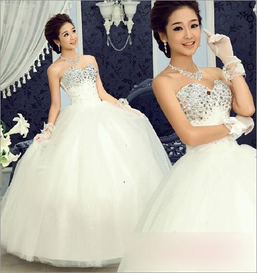 圆脸偏瘦新娘发型设计 最美新娘闪亮登场