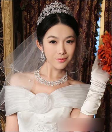 最新韩式新娘发型设计 端庄典雅好亮眼