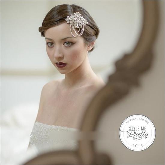 复古婚礼新娘发型 哪款才是你的菜(2)