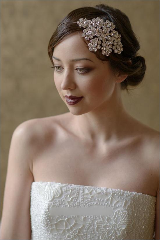 复古婚礼新娘发型 哪款才是你的菜图片