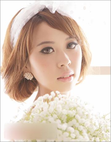 公主范儿新娘发型