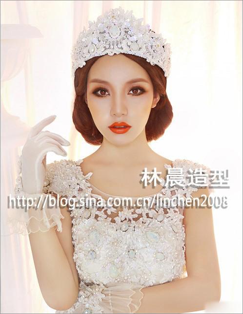 时尚大气新娘造型 让你成为气场女王(2)