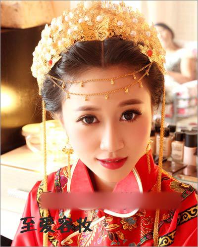 秀禾服新娘造型 演绎传统中式复古美