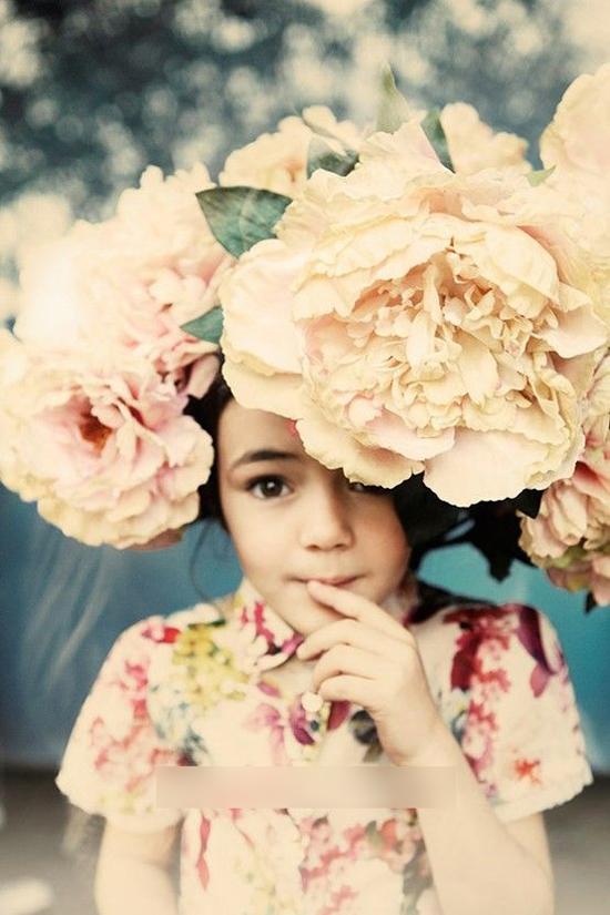 创意鲜花新娘造型 演绎别样格调