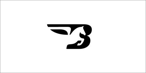 字母logo设计 标识设计