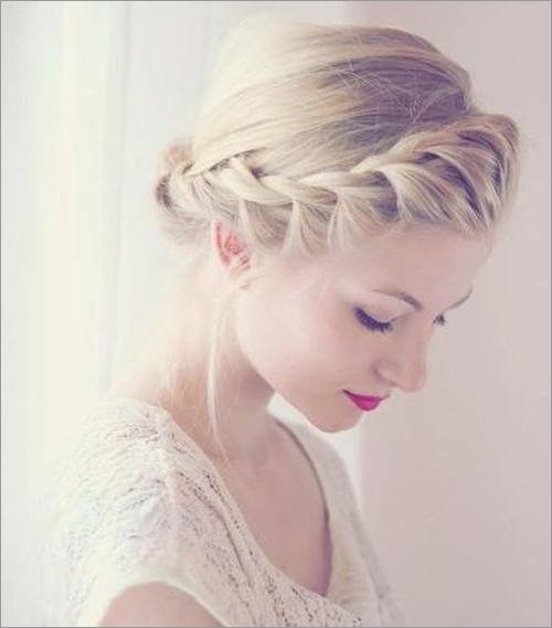 发冠式新娘发型 变身吸睛女王(5)_妆面赏析_影楼化妆