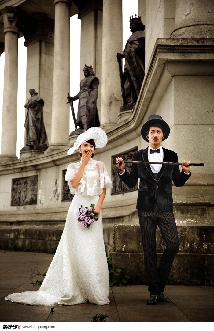 英伦风婚纱摄影