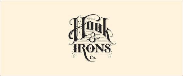 复古字体的运用:33款国外logo设计欣赏(6)