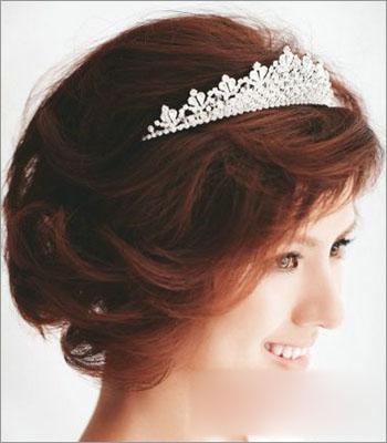 俏丽新娘短发发型 打造简约清新范儿(3)