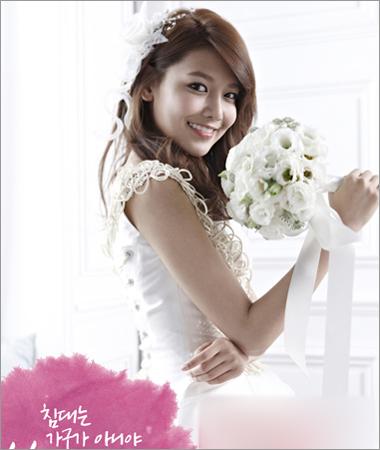 韩式简约新娘发型 变身优雅纯美公主图片