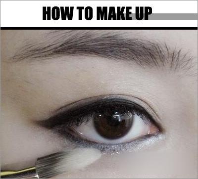 化妆技巧 画眼影