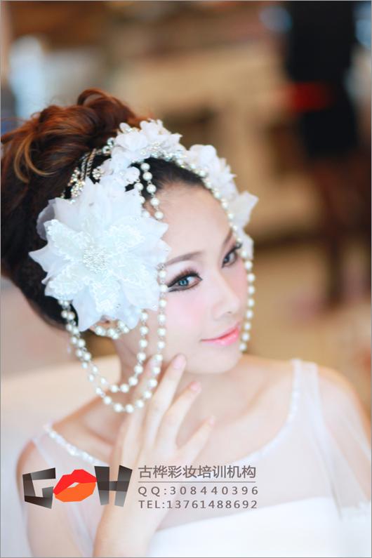 最新新娘彩妆造型 360度完美收官(4)
