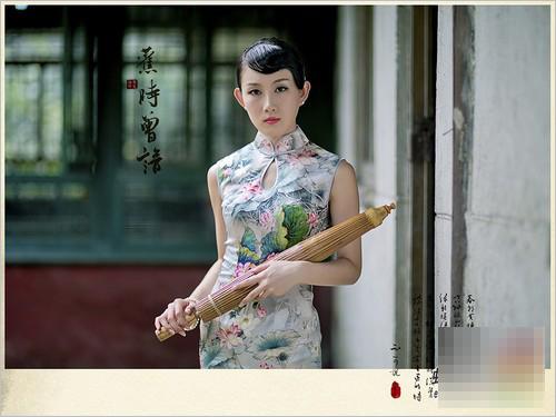 古典中国风人像摄影