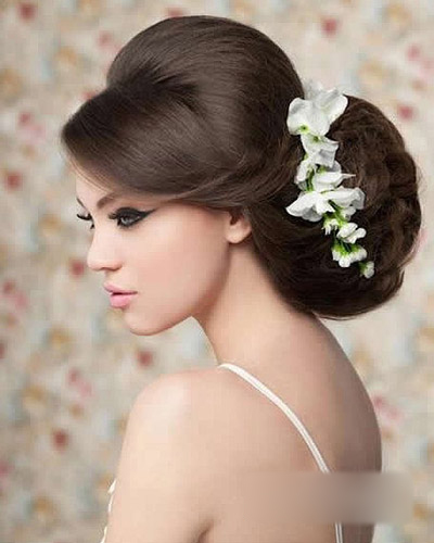 冬季新娘发型图片 吸睛百分百