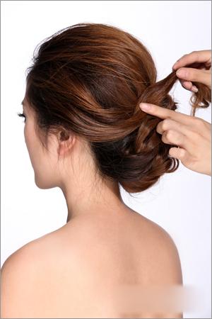 韩式新娘发型图解