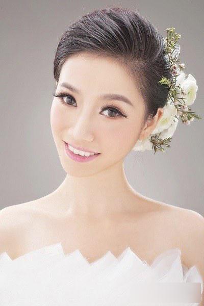新娘妆面造型赏析 哪款是你的情有独钟