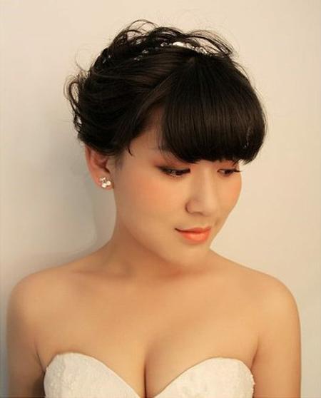 精致复古的新娘发型 让新娘大放光彩(3)_妆面赏析__网