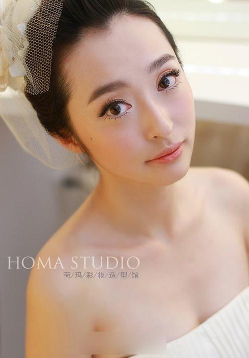时尚流行新娘发型 华丽转身完美蜕变