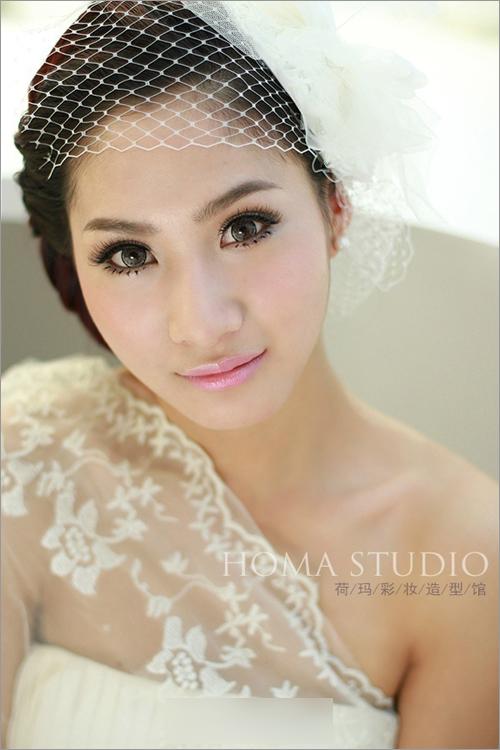 时尚流行新娘发型 华丽转身完美蜕变(2)