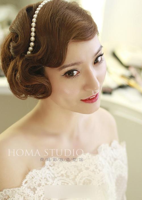 时尚流行新娘发型 华丽转身完美蜕变图片