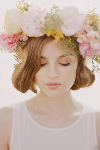 新款新娘发型图片欣赏_发型设计图片