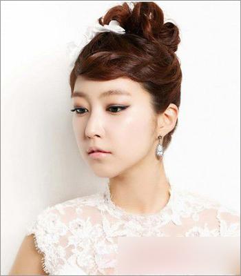 韩式新娘发型 打造典雅高贵气质图片
