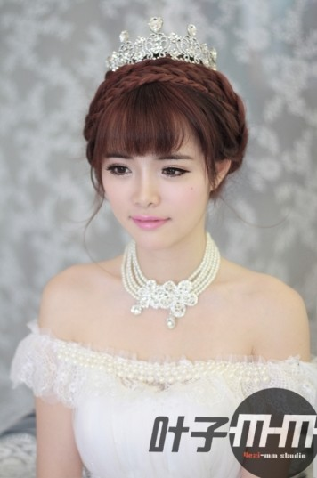 小清新新娘发型 上演极简之美