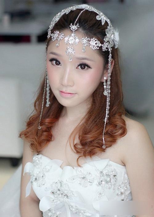 最新新娘发型图片 做自己的婚礼主角