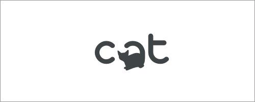 标志设计元素运用实例:猫