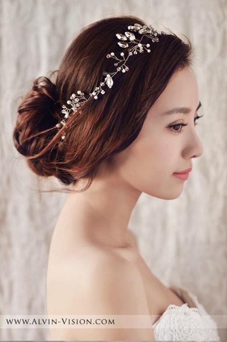 新娘发型推荐 360度让你美到爆表(2)