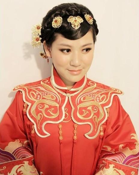 中式新娘发型 哪款是你的最爱